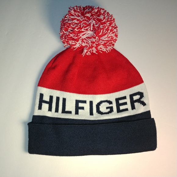 Tommy Hilfiger - Men s Winter Knit Pom Hat 3ffe1b505f6